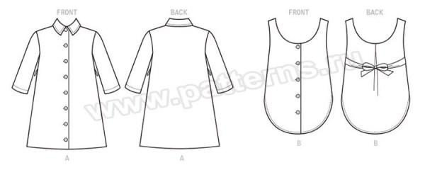 Выкройка McCall's — Платье и сарафан - M7710