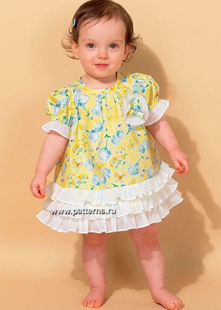 Выкройка McCall's — Платье, Трусики - M7307