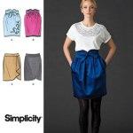 Выкройка Simplicity — Юбка - S2512 ()