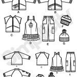 Выкройка Simplicity — Курточка, Жилет, Джемпер, Брючки, Шапки - S2292