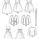 Выкройка Simplicity — Мини платье, Жакет - S2250 ()