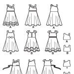 Выкройка Simplicity — Платье - S1702