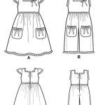 Выкройка Simplicity — Платье, Комбинезон - S2239