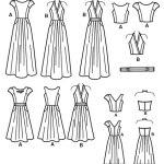 Выкройка Simplicity — Платье с плиссированной юбкой - S1610 ()