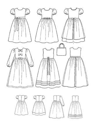 Выкройка Simplicity — Платье, Сумка - S9497