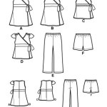 Выкройка Simplicity — Платье, Топ, Шорты, Брюки - S2677