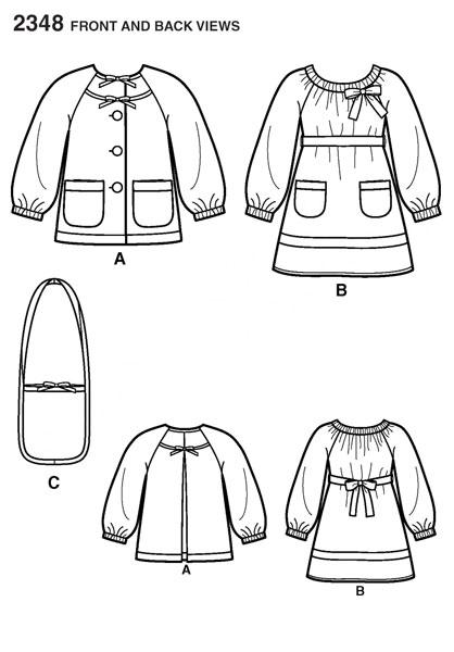 Выкройка Simplicity — Платье, Жакет, Сумка - S2348