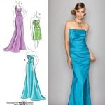 Выкройка Simplicity — Праздничное платье - S2252
