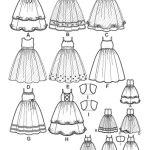 Выкройка Simplicity — Праздничное платье - S3943