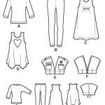 Выкройка Simplicity — Топ, Туника, Платье, Жакет, Брюки - S1894