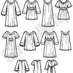 Выкройка Simplicity — Туника, Платье - S2897 ()