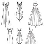 Выкройка Simplicity — Вечернее платье - S1691 ()