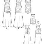 Выкройка Simplicity — Вечернее платье - S1907 ()