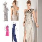 Выкройка Simplicity — Вечернее платье с разрезом - S1874 ()