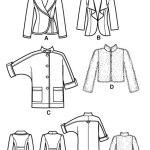 Выкройка Simplicity — Жакет, Куртка - S2150
