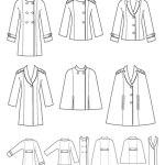 Выкройка Simplicity — Жакет, Пальто - S1942