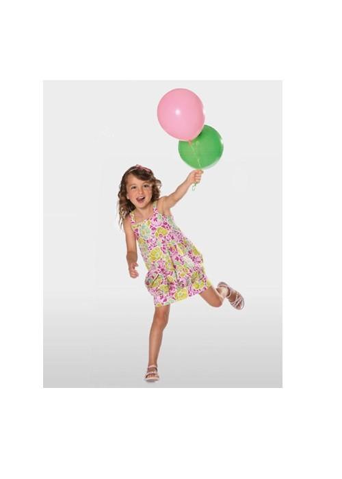 Выкройка Burda №9551 — Платье для девочки