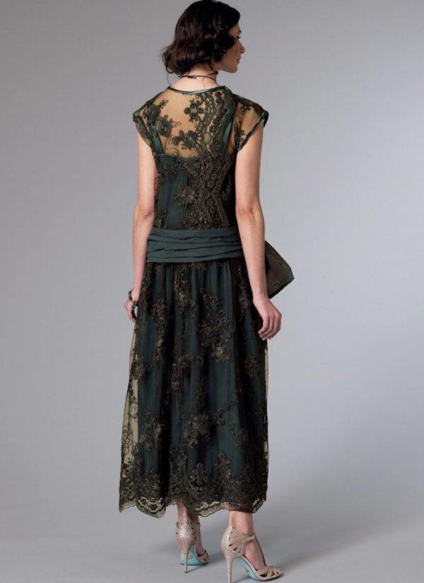 Выкройка Butterick №6399 — Историческое платье - 14-22