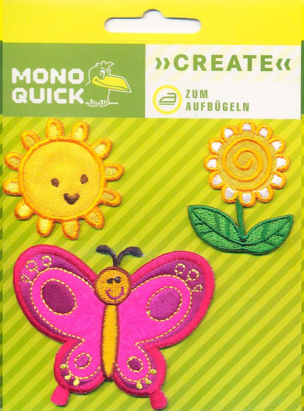 Бабочка, солнце, цветок
