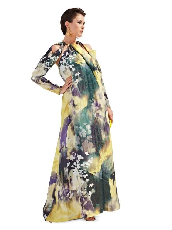 Выкройка Burda №7106 — Платье для будущей мамы