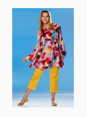 Выкройка Burda 7675 — Туника, платье
