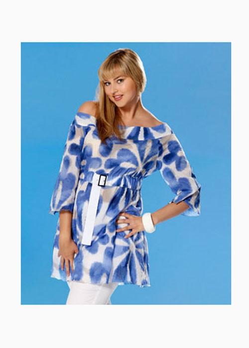 Выкройка Burda №7675 — Туника, платье