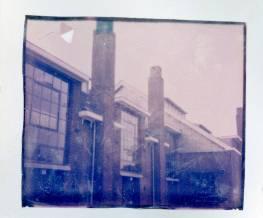 Image transfer van (verlopen) Impossible color film.