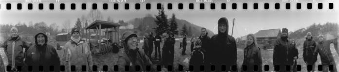 Lomography Spinner 360 met Lomography Lady Grey 400 film.