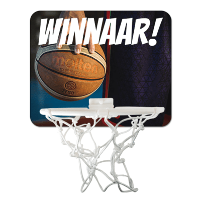 Basketbalgoal met foto