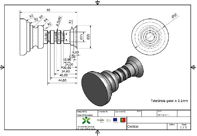 UFCD [5838] Introdução ao CNC + UFCD [5839] Programação