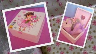 pudełko dla dziewczynki