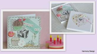 kartka na urodziny w pudełku