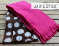 Easy DIY No Sew Scarf