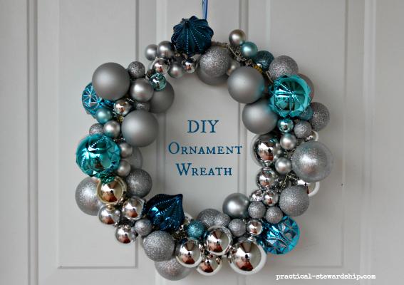 How To Make A Christmas Ball Ornament Wreath