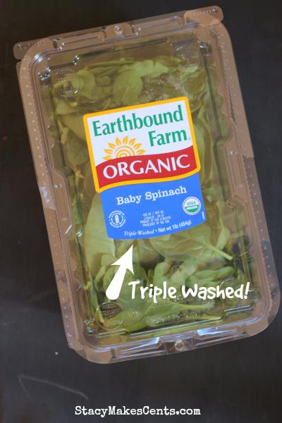 Earthbound Farm Organic Baby Spinach
