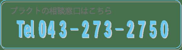 相談窓口tel 043-273-2750