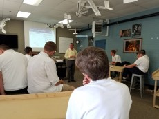 9th graders discuss stability and control of airplanes.