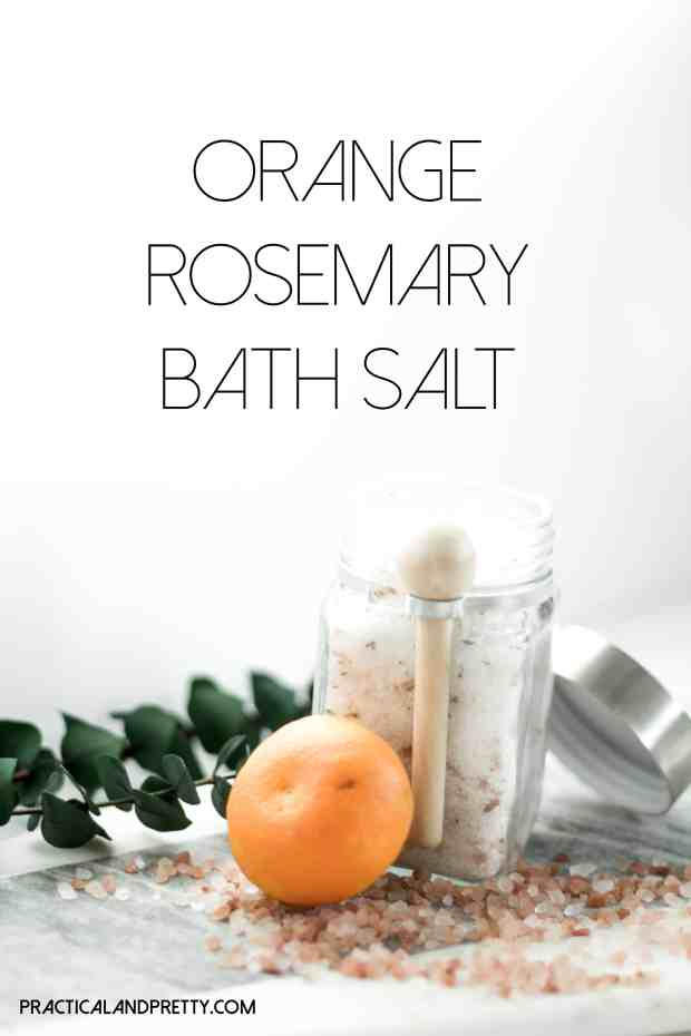 Bath salt recipe to make your bath time even more perfect! All great ingredients for your mental health and self care.