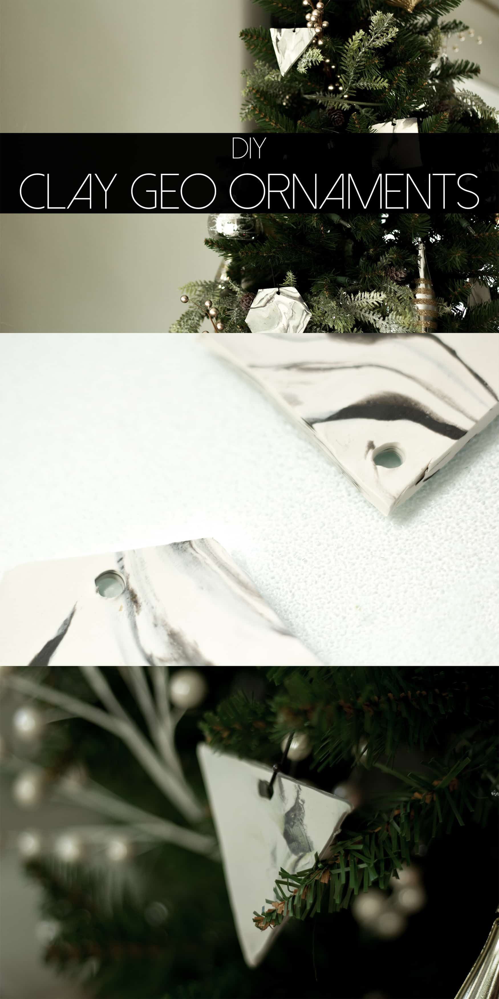 Such a pretty little ornament DIY with clay.