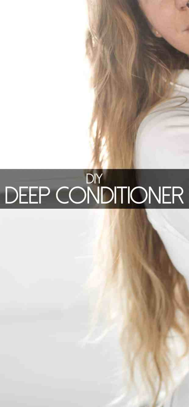 Whip up this easy DIY deep conditioner recipe to make your hair super soft and moisturized!