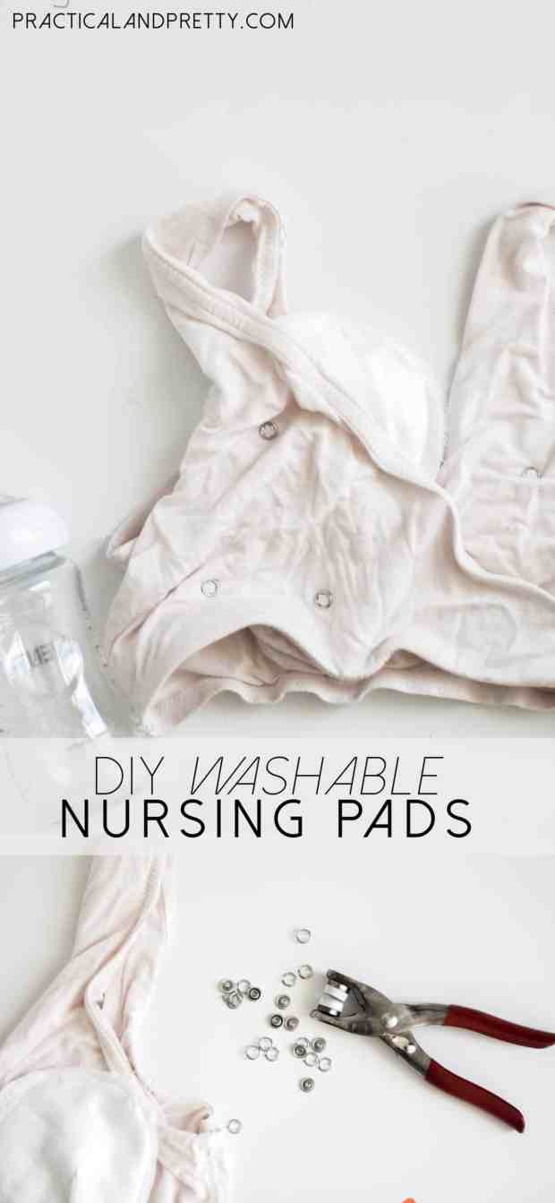 Save yourself some money by making your own nursing bra pad inserts. You only need a couple of things and a few minutes! Don't buy another nursing pad again