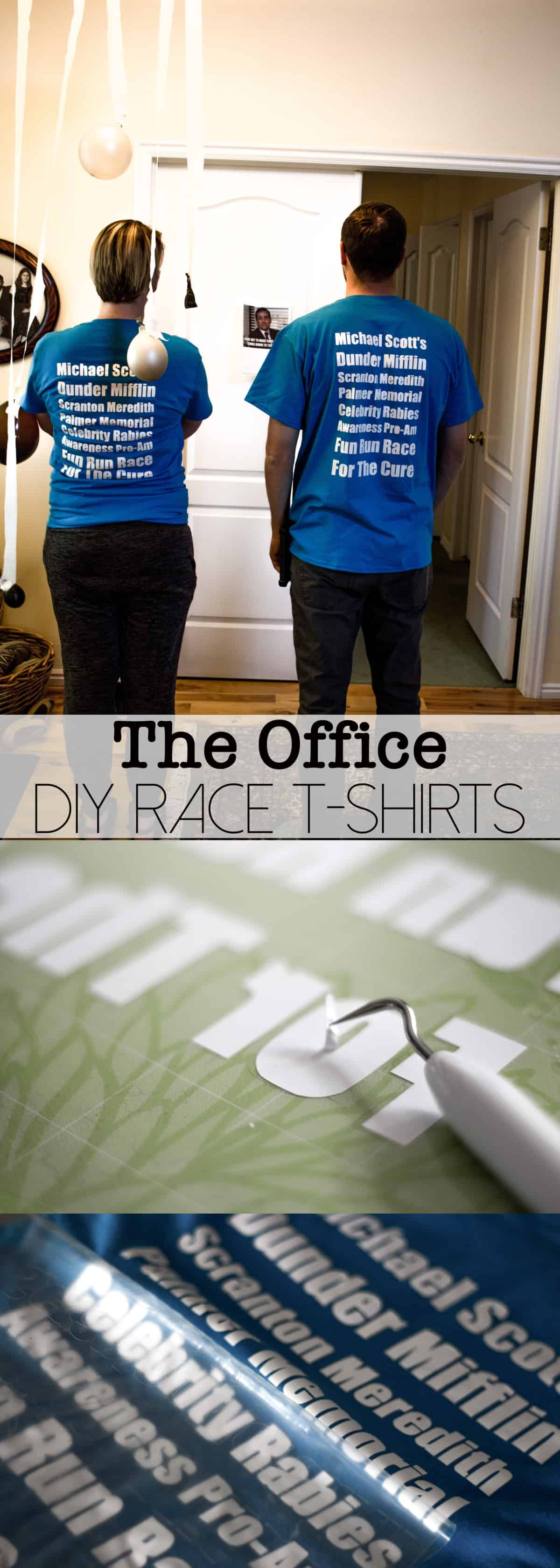 Every Office fan needs a Dunder Mifflin Fun Run T-Shirt! This tutorial will show you how simple it is to make your very own!