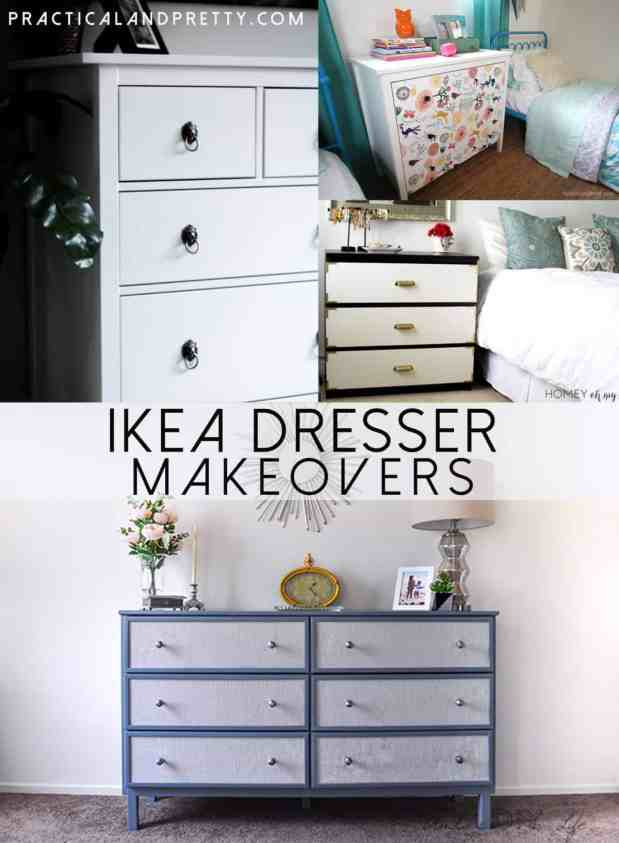 The IKEA Hemnes dresser is one of the most popular IKEA items for good reason. It is relatively inexpensive and is a sturdy piece of furniture.
