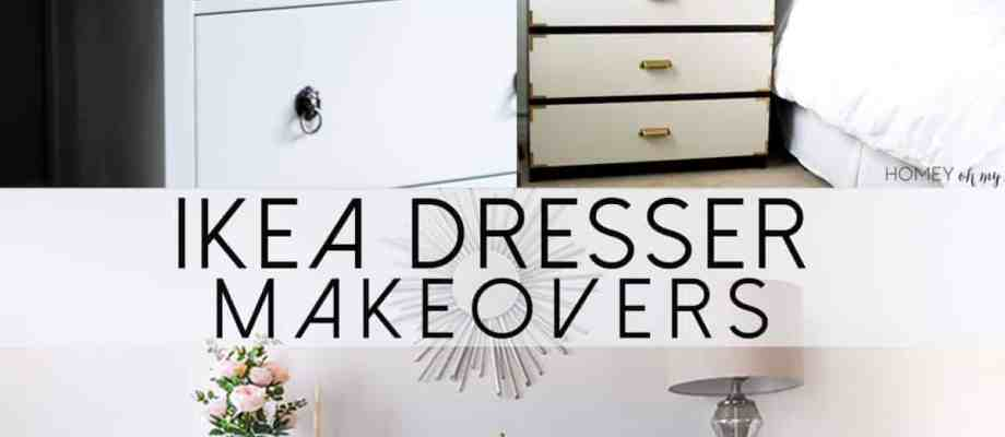 IKEA Hemnes Dresser DIY Ideas