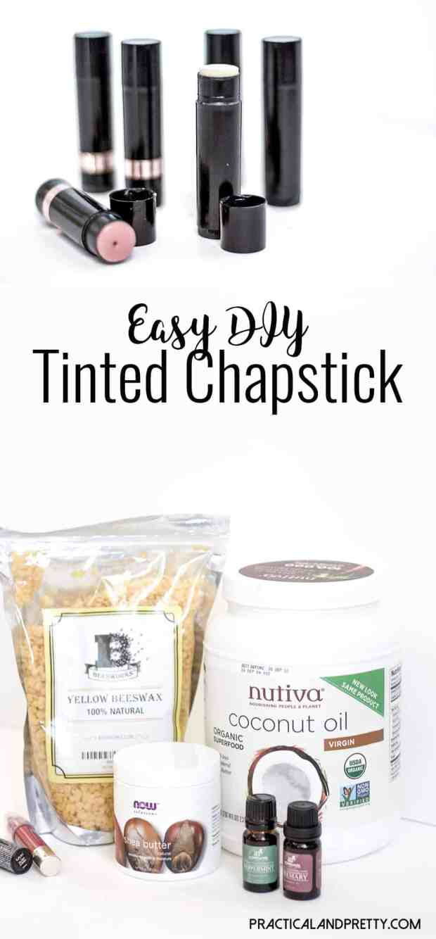 Making your own chapstick is really simple and you can adjust the recipe to be as soft as you like it! I also tinted mine which worked really well.
