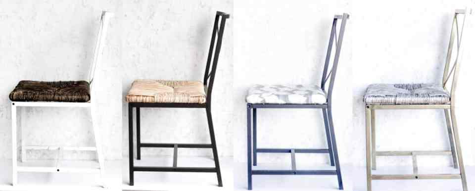 The GRANÅS chair is so customizable. To prove it I made it over 3 different ways. Even the original is cool so I wanted to throw that one in too!