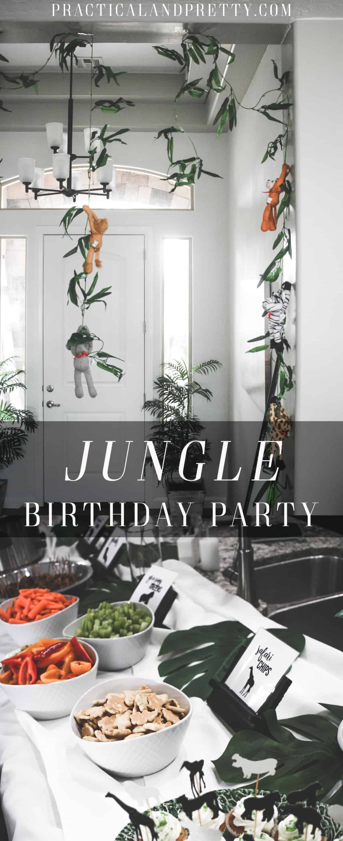 This jungle party looks so fun and was so simple to put together! Check out all the free printables included too!