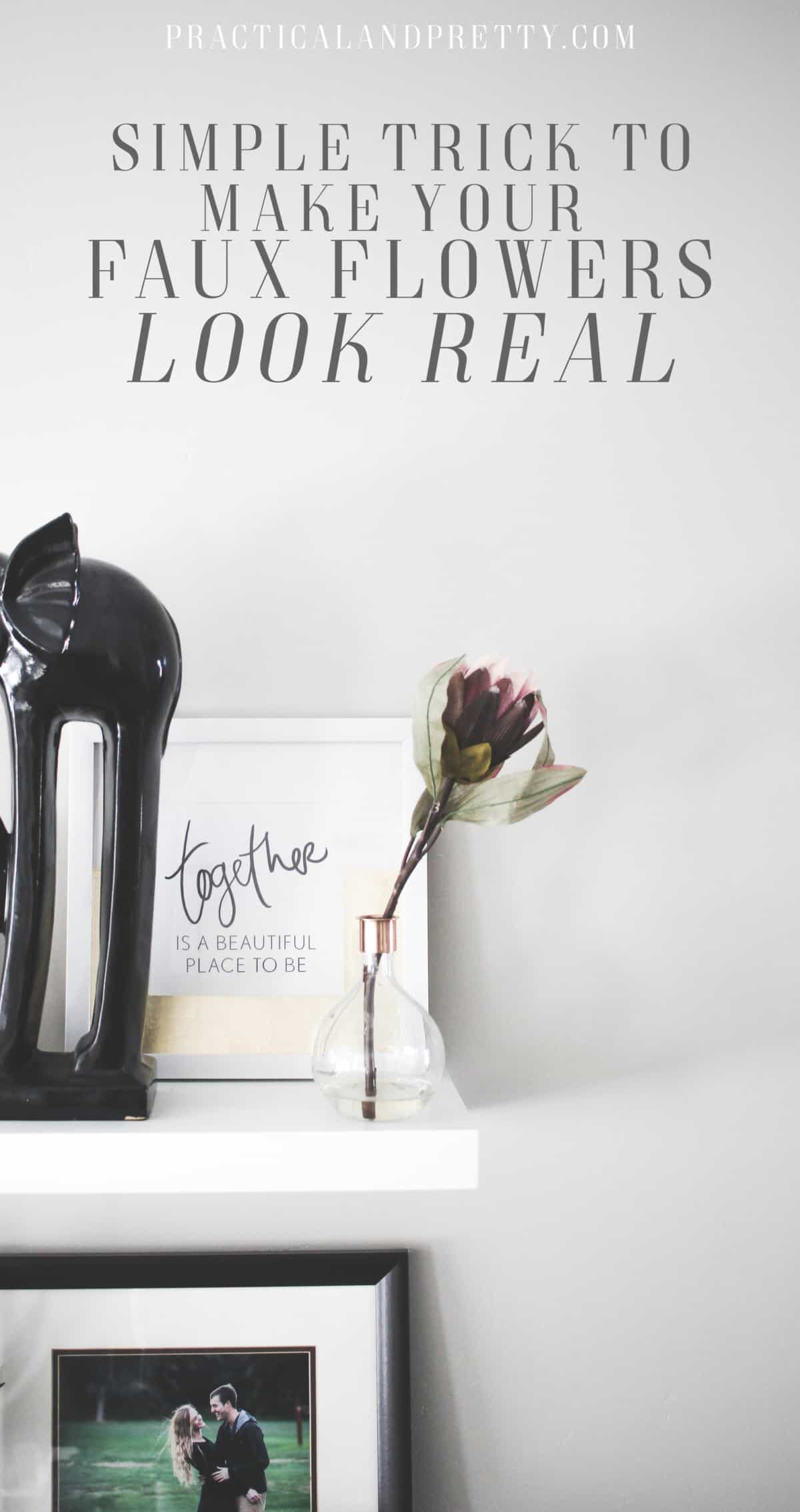 How To Make Fake Flowers Look More Real Practical And Pretty