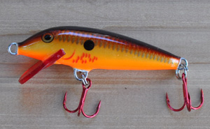 Rapala Bleeding Copper Flash Minnow