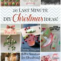 20 last minute diy christmas crafts decor recipes and drinks